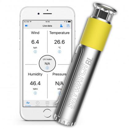 Skywatch windmeter BL300 voor smartphone met bluetooth