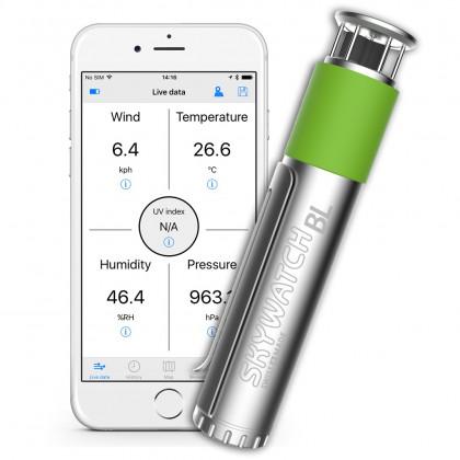 Skywatch windmeter BL400 voor smartphone met bluetooth